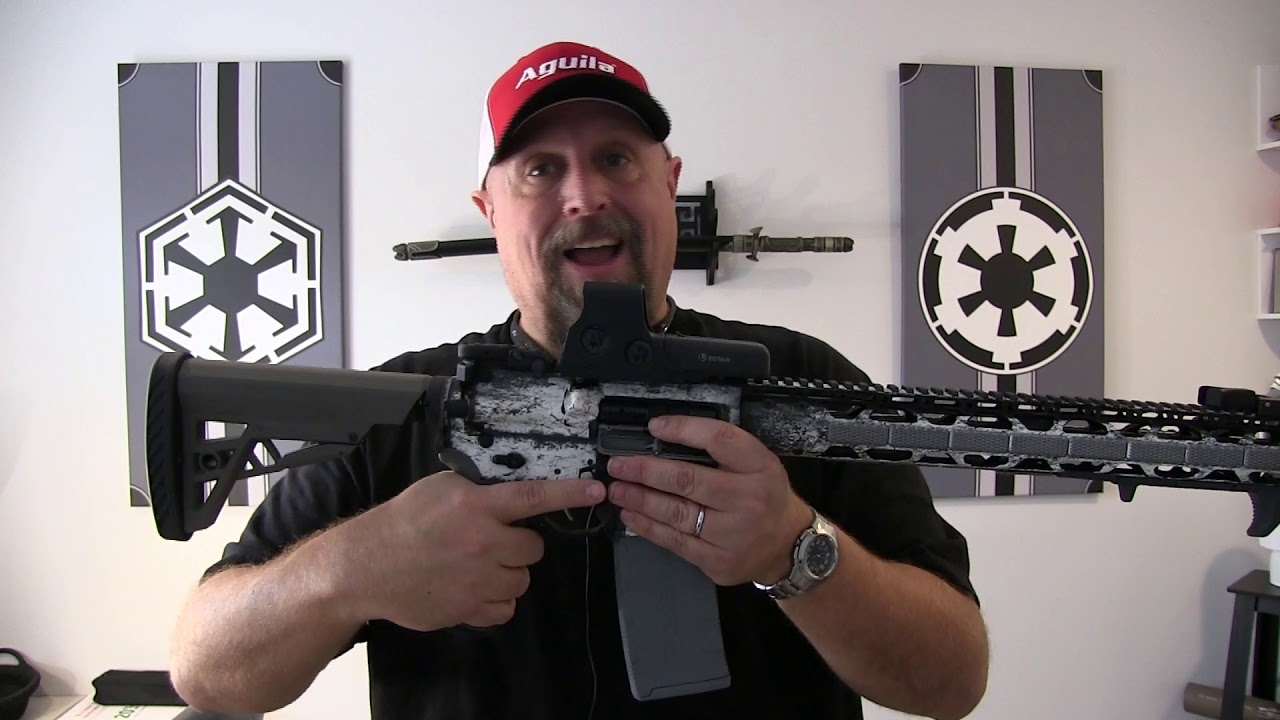 ATI SnowTrooper AR15 Build Reveal/Review - Full Nerd AR Part 2