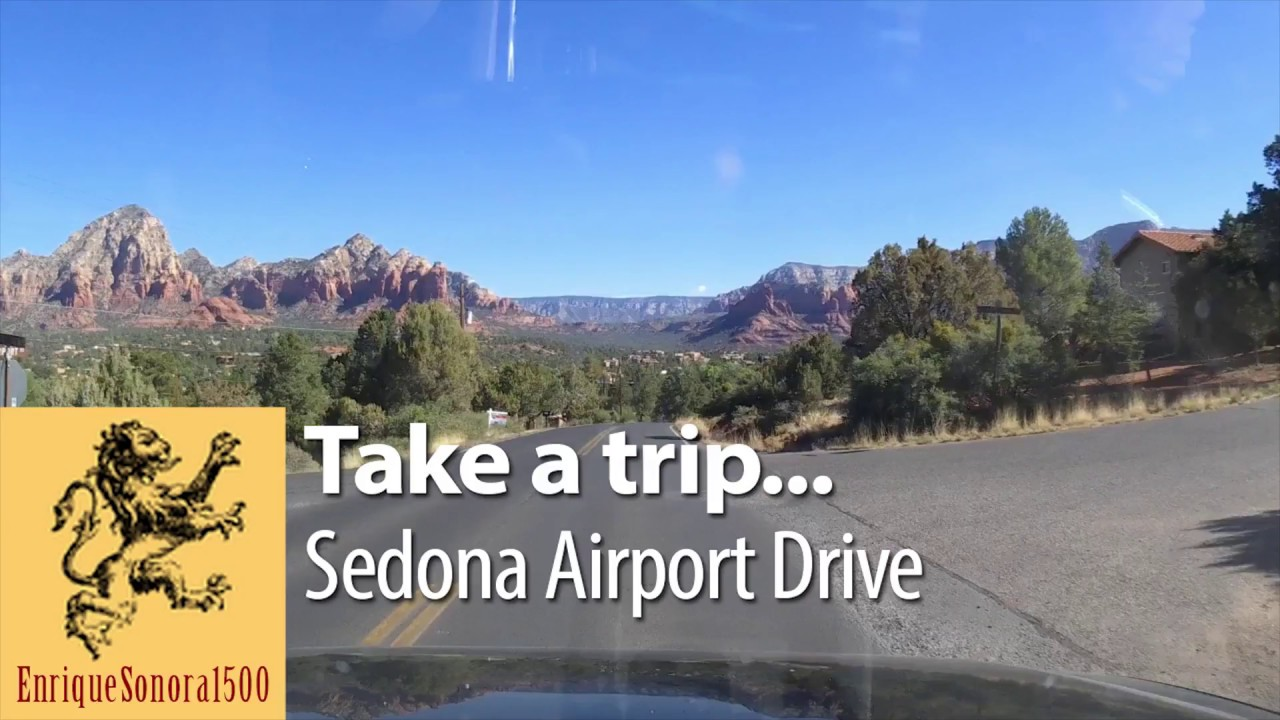 Sedona, AZ Airport drive