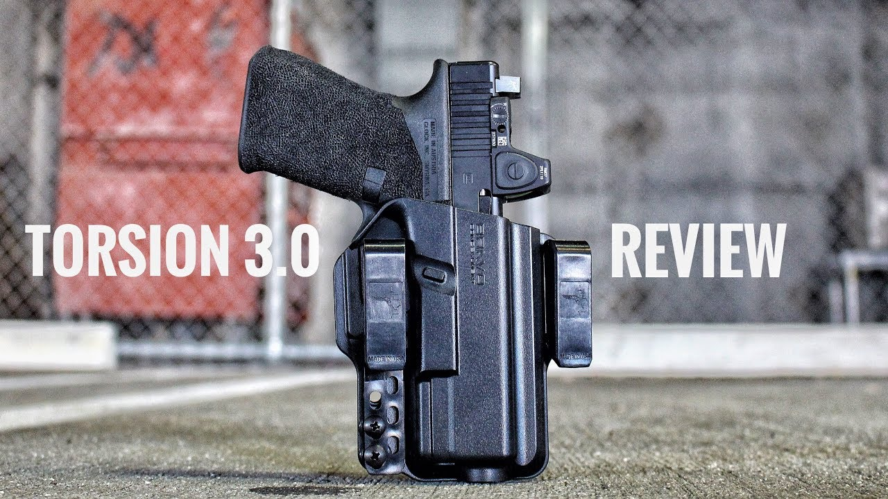 Glock 19 Holster IWB Review - Torsion 3.0 by Bravo Concealment