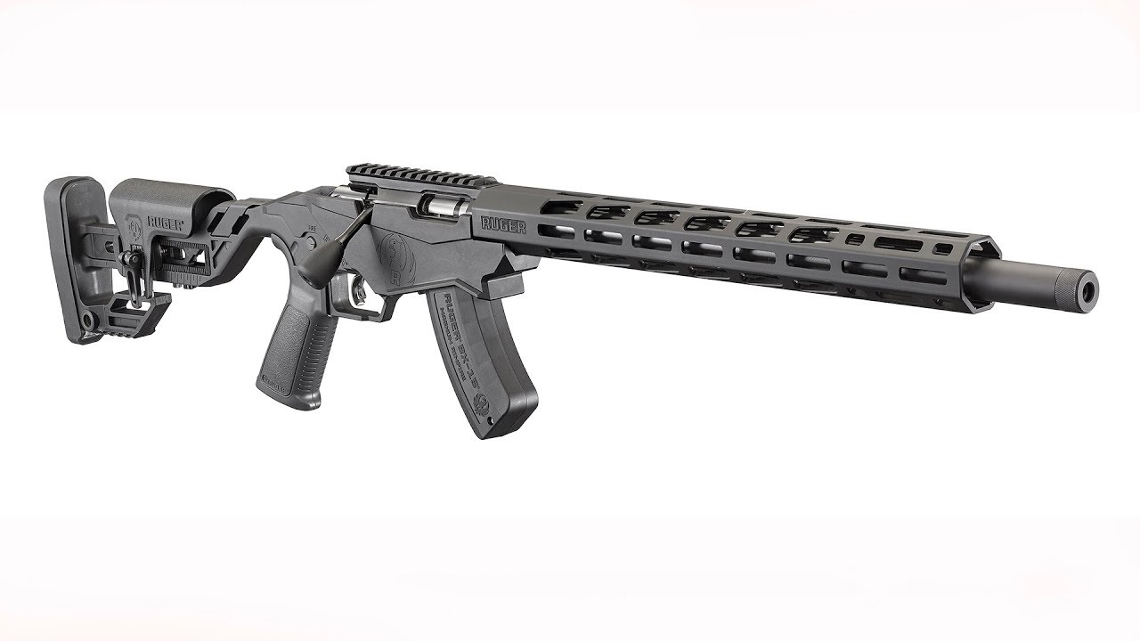 Introducing the New Ruger Precision Rimfire Target Rifle in .17 HMR