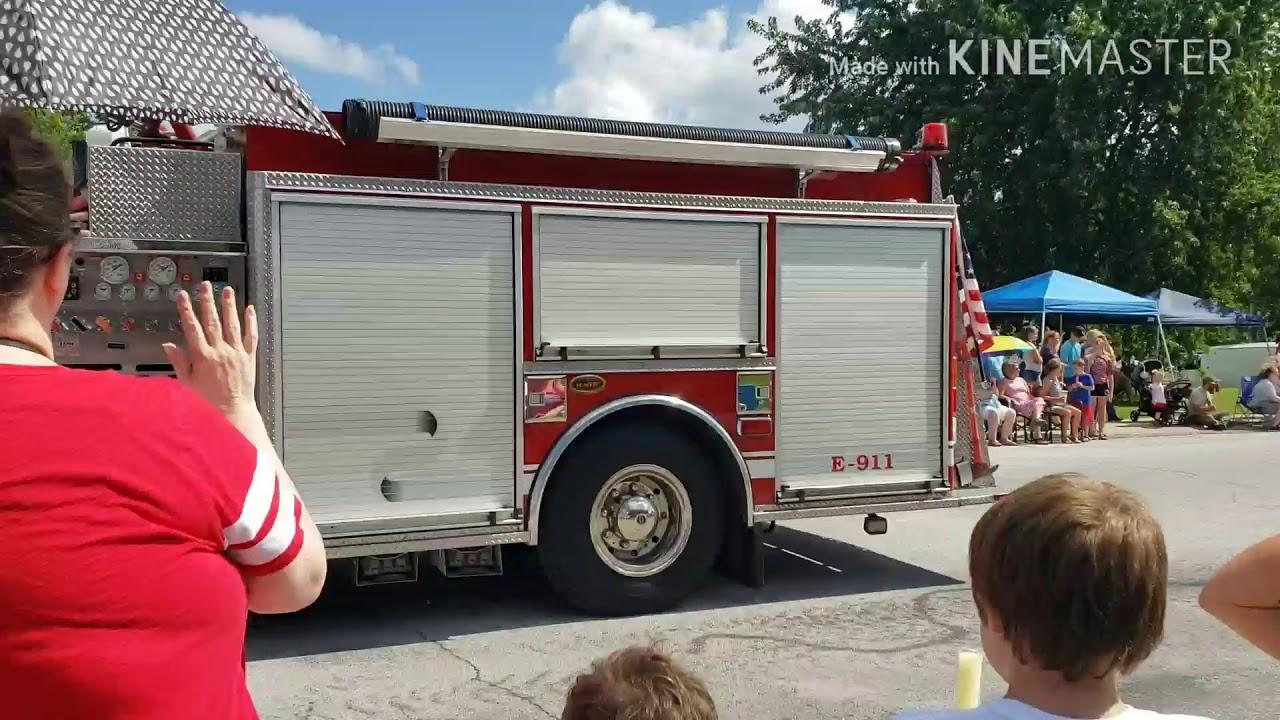 2018 Marshfield 4th of July parade