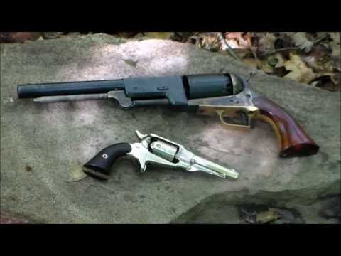 Colt 1847 Walker & Remington Pocket