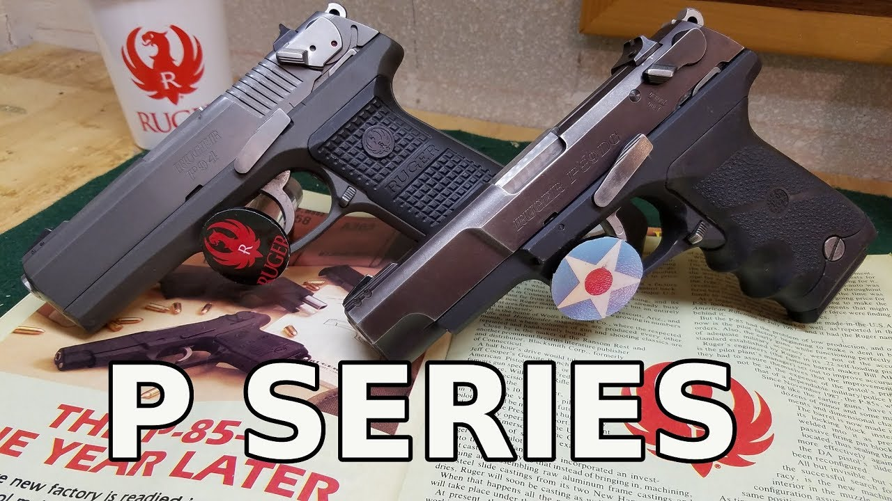 Ruger P Series History, Development & Review
