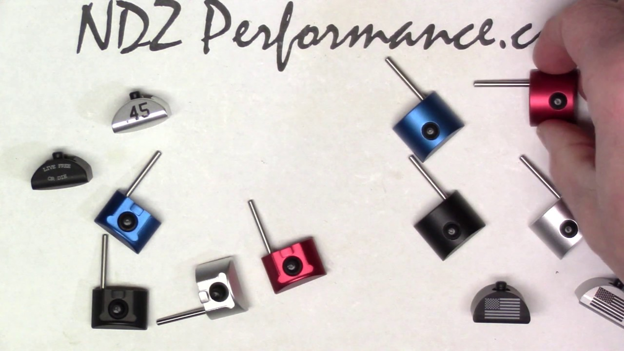 NDZ Glock Grip Plug Tool - Takedown