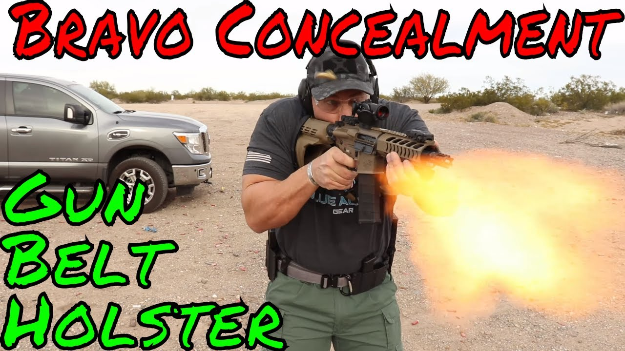 Bravo Concealment OWB Holster And Mag Pouches