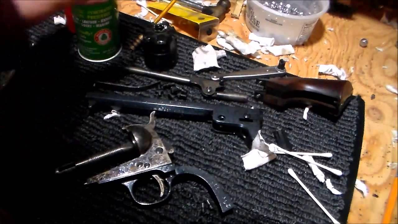 Colt 1851 Navy Disassembly and Cleaning Part 3 -Reassembly