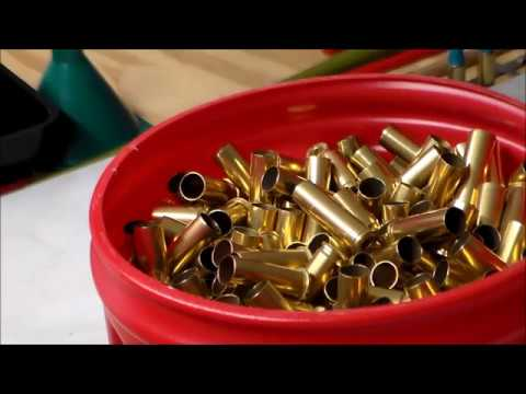 brass cleaning with lyman cyclone