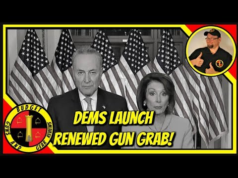 Dems Launch New Gun Grab- And Spineless RINOS Join Them, CA Dems Want One A Month, and other stories
