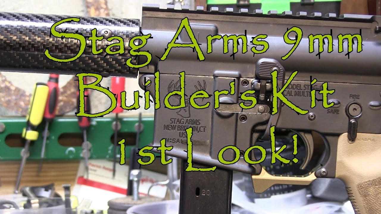 Stag Arms AR9 Builders Kit 1st Look