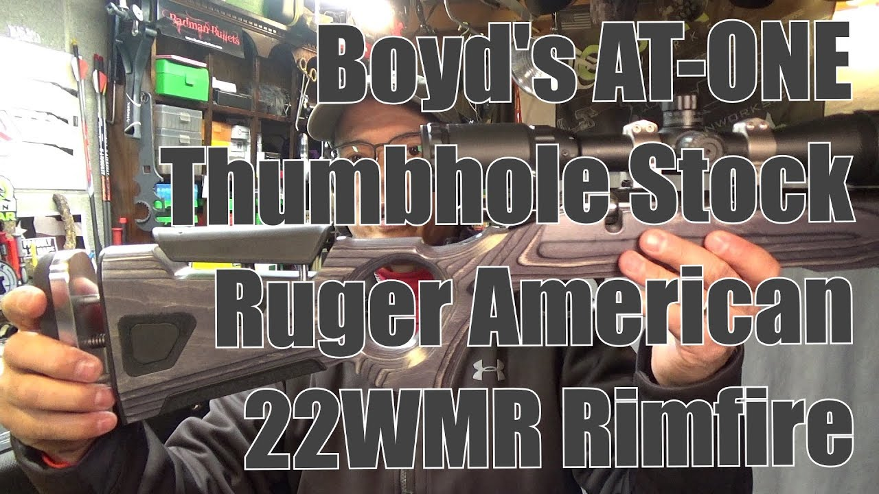 Boyds AT ONE Thumbhole Stock Ruger 22WMR American Rimfire