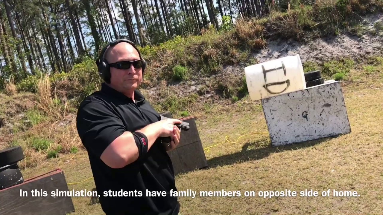 Armed Home Defense Simulations (live fire)