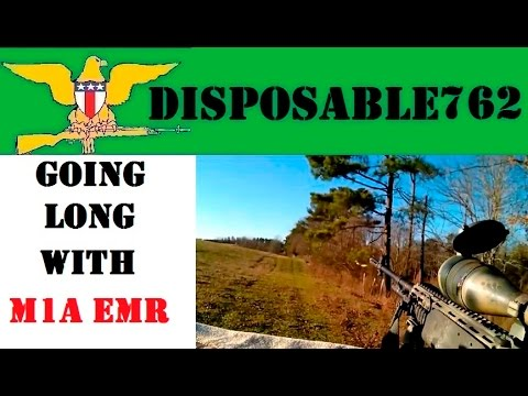 Long Distance Shooting with the M1A EMR M39
