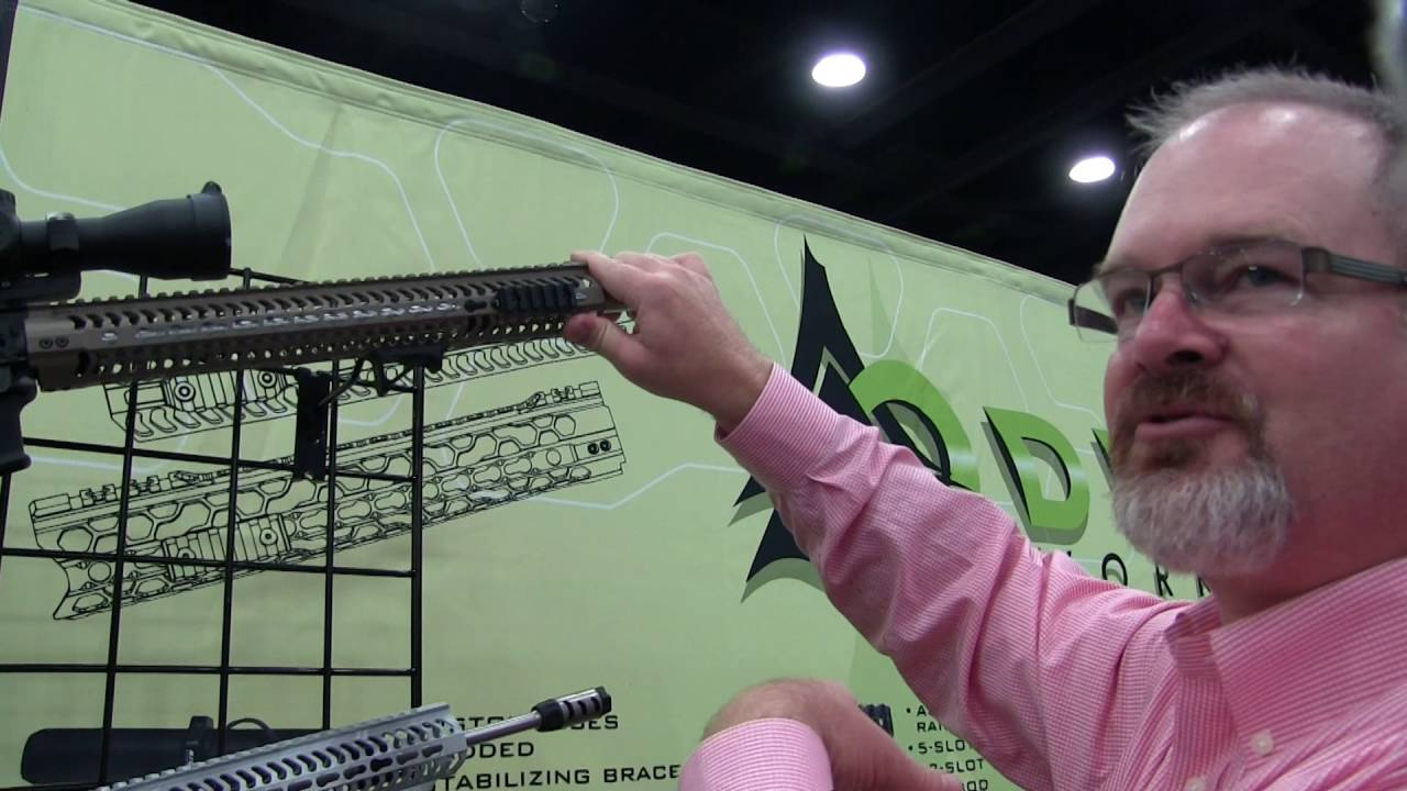 Odin Works O2 Lite Forend Rail 2016 NRA Annual Meetings and Exhibits by Nito Mortera
