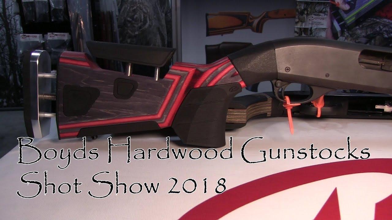 Shot Show 2018 Boyds Hardwood Gunstocks