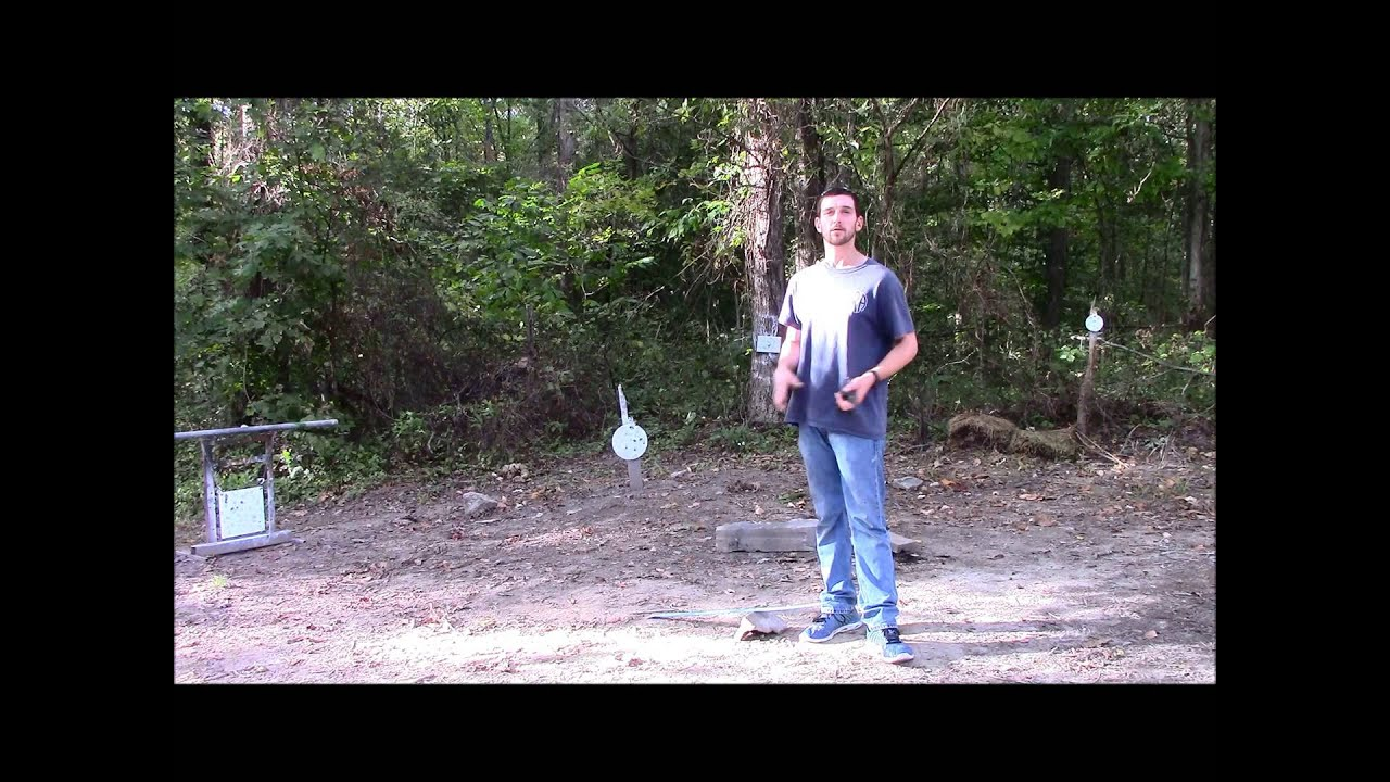 The GunFather Trick Shot Tuesday Reverse Flying Trick Shot