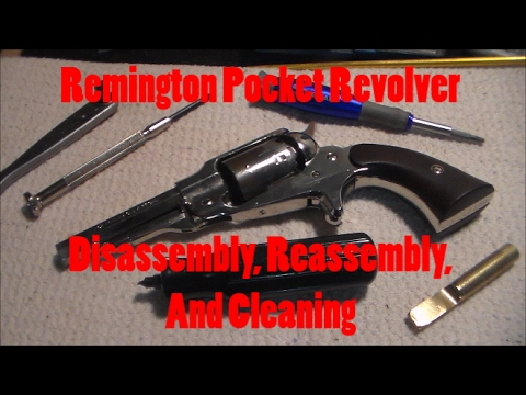 Remington Pocket Revolver Disassembly-Cleaning-Reassembly