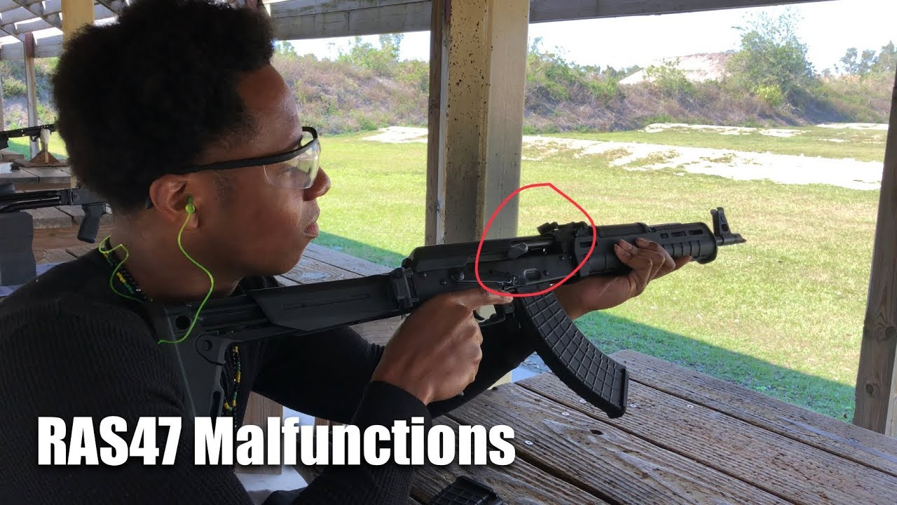 Century Arms RAS47 - Malfunctions