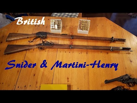 British Snider & Martini Henry (Old School Cool!)