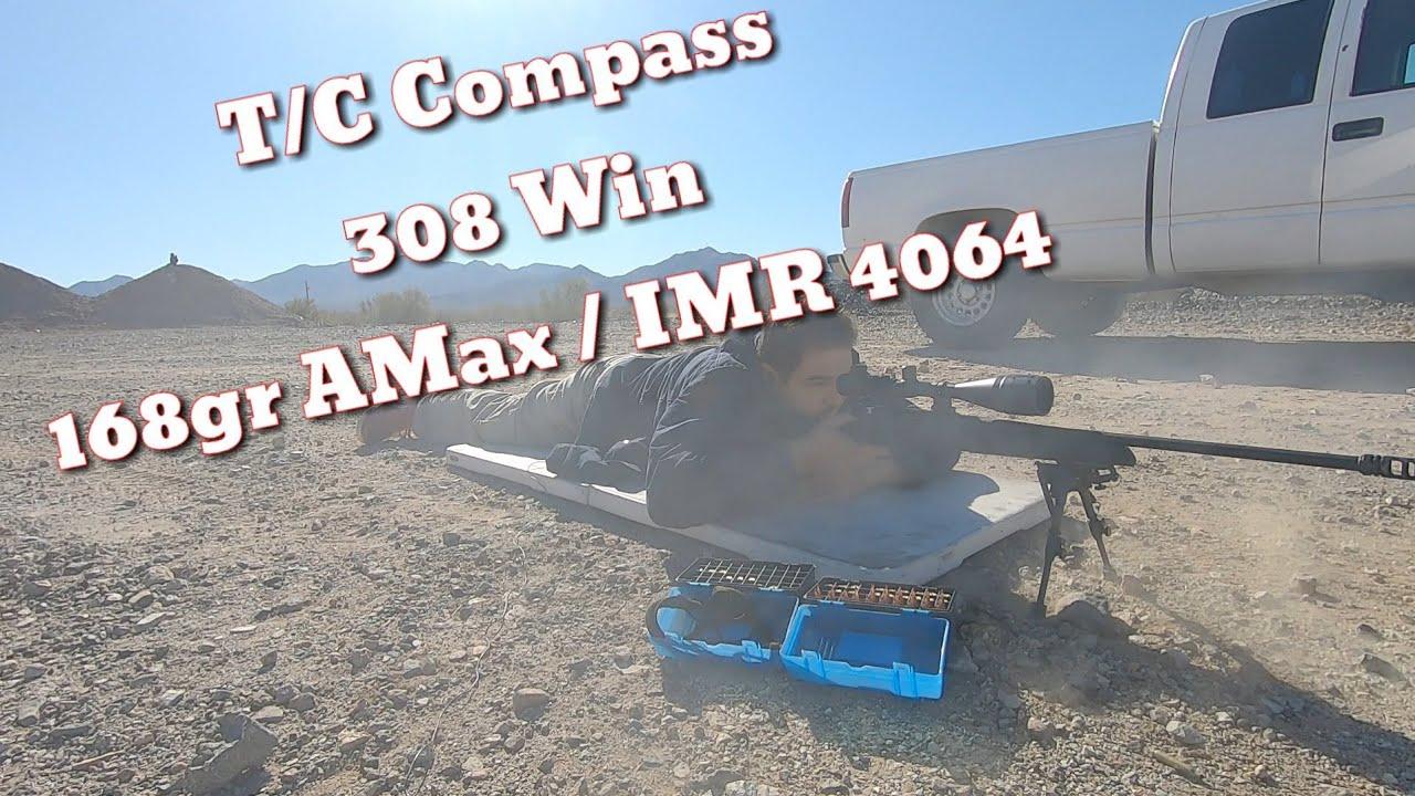 T/C Compass 308 - 168gr AMax & IMR4064 - Load Development