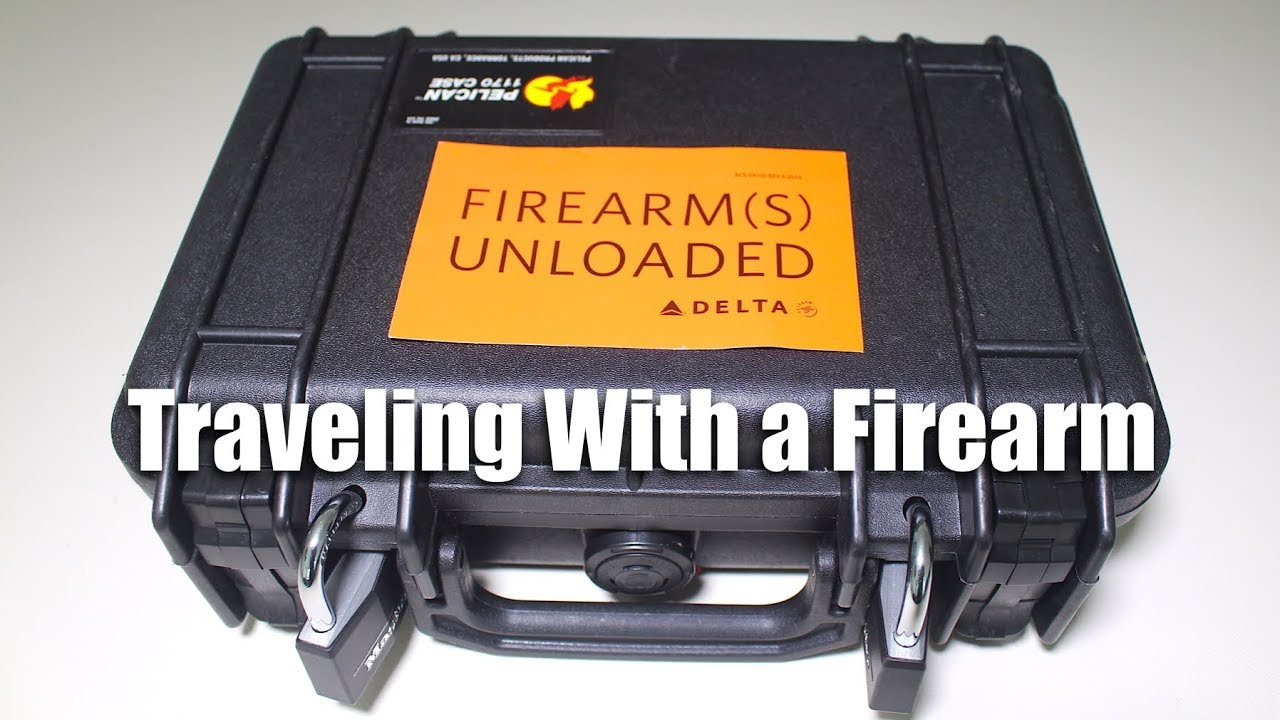 Top 5 Tips for Traveling With a Firearm