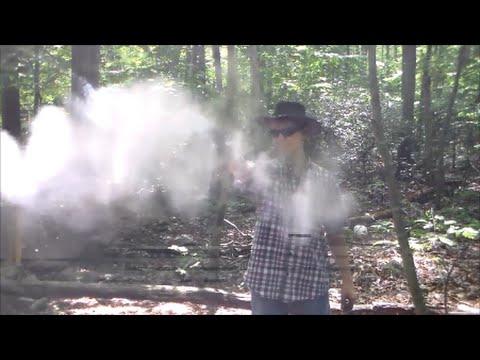 Shooting Homemade Black Powder