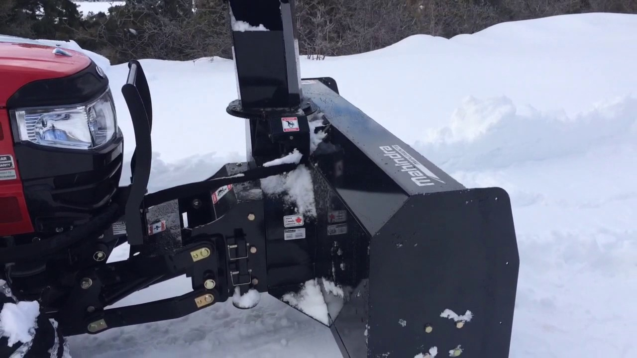 The  assault snowblower?