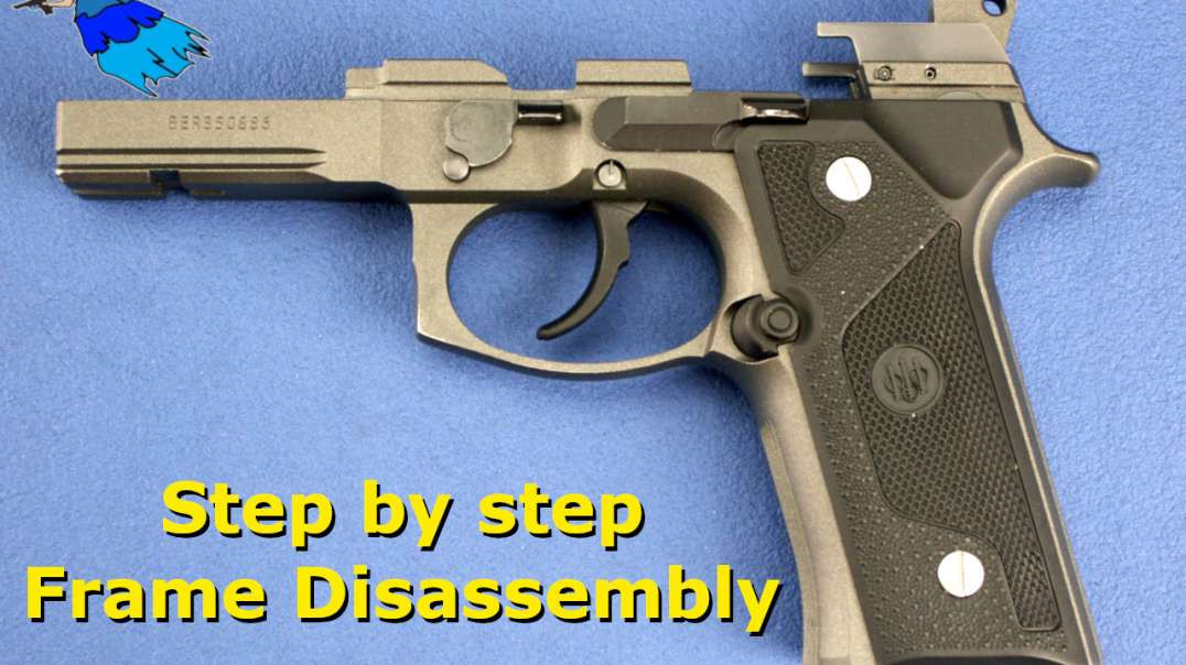 Beretta 92 96 M9 Frame Disassembly