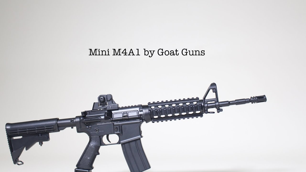 Realistic Mini AR15 by Goat Guns 11
