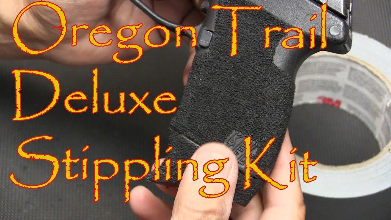 Oregon Trail Defense Deluxe Stippling Kit Kel Tec P11