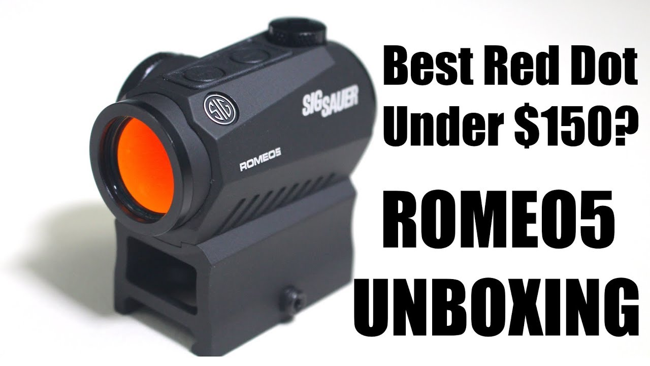 Sig Sauer Romeo5 Red Dot Sight Unboxing