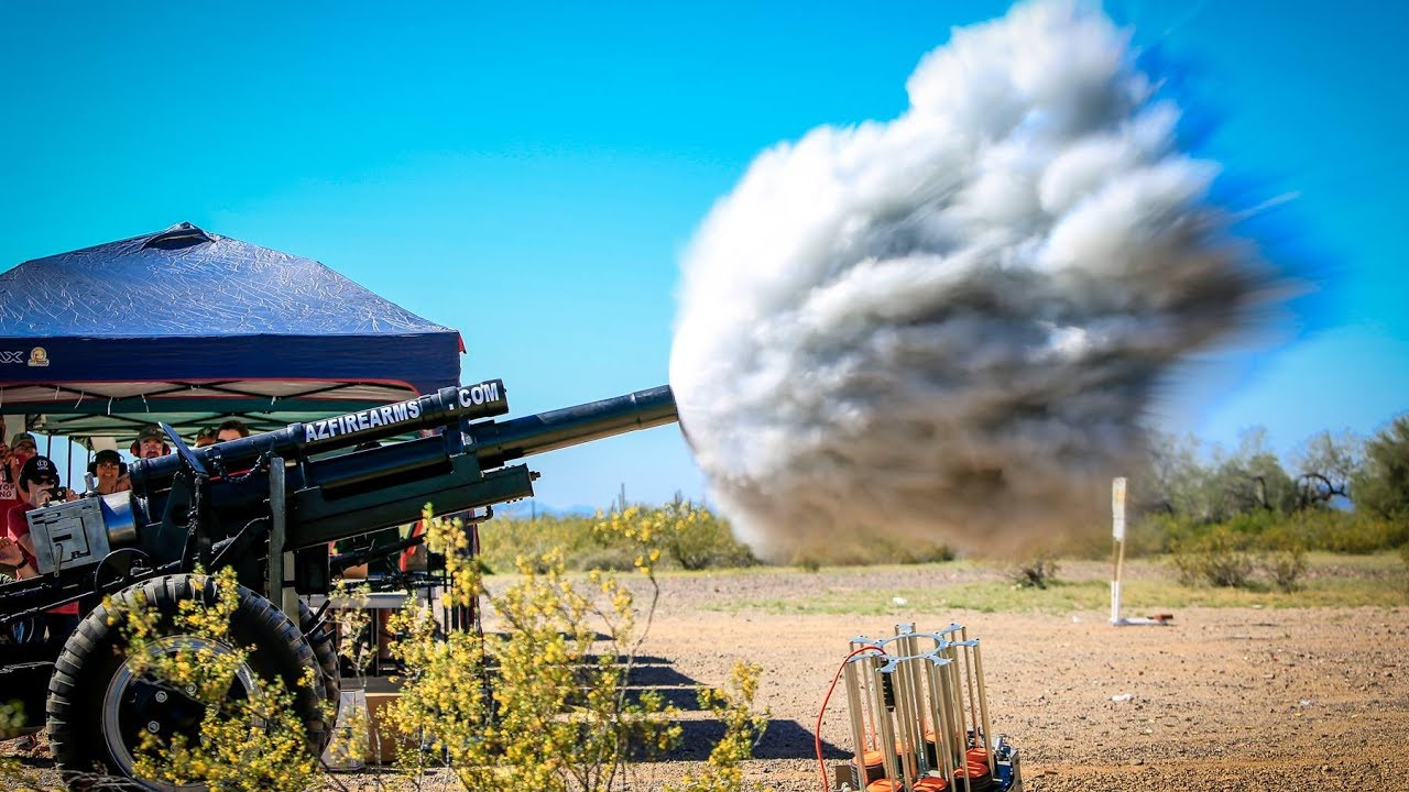 AZFirearms Authentic WWII 105 Howitzer Cannons