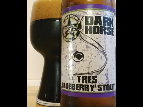 TRES BLUEBERRY STOUT from DARK HORSE