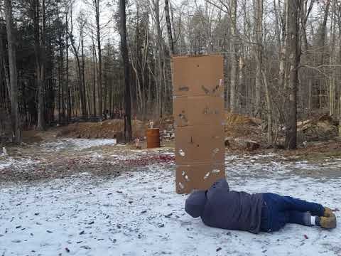 Tactical Barricade Unconventional Shooting Positions drill
