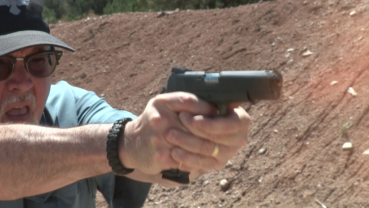 Rock Island Armory .22 TCM 1911 Pistol in Slow Motion #179