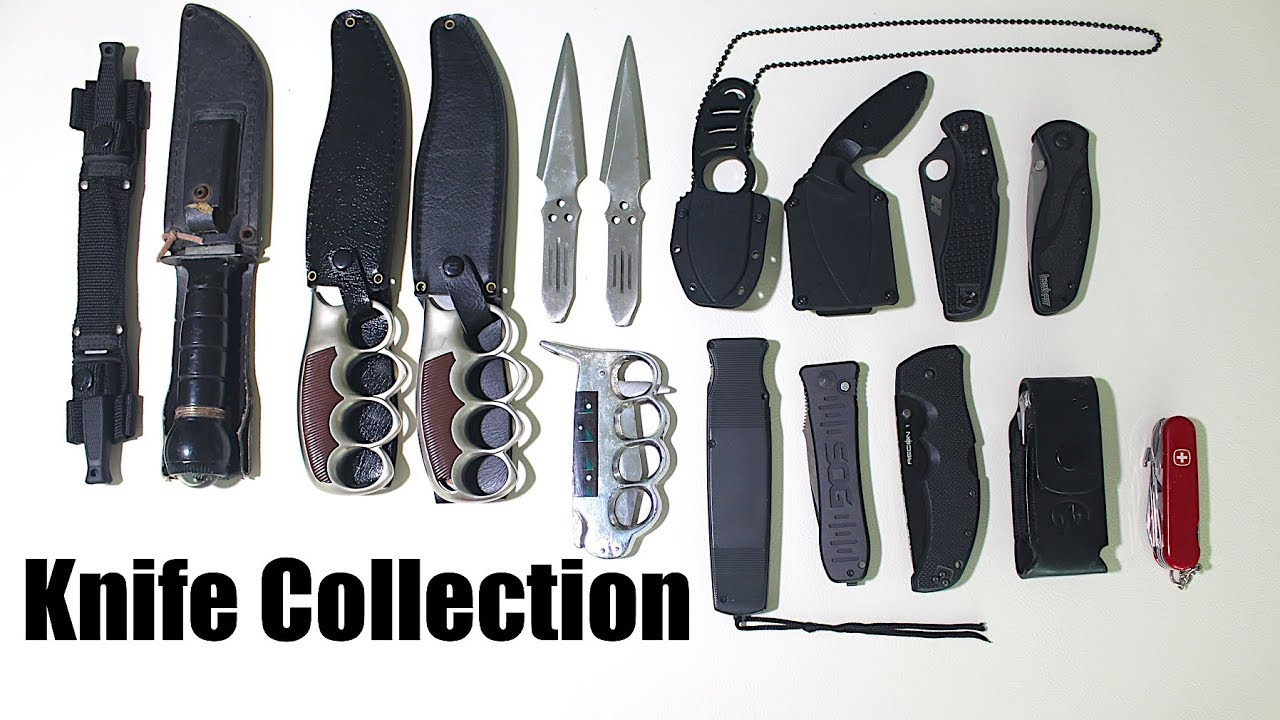 ISSA Knife Collection 2018