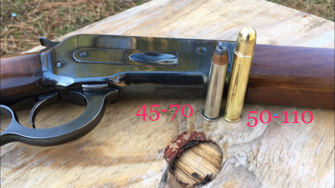 Pinetree vs Barnes 535gr banded Solids 1886 Winchester 50 express, 45-70 for comparison Lever action