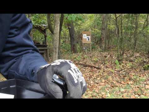 Testing Cranky's bullets