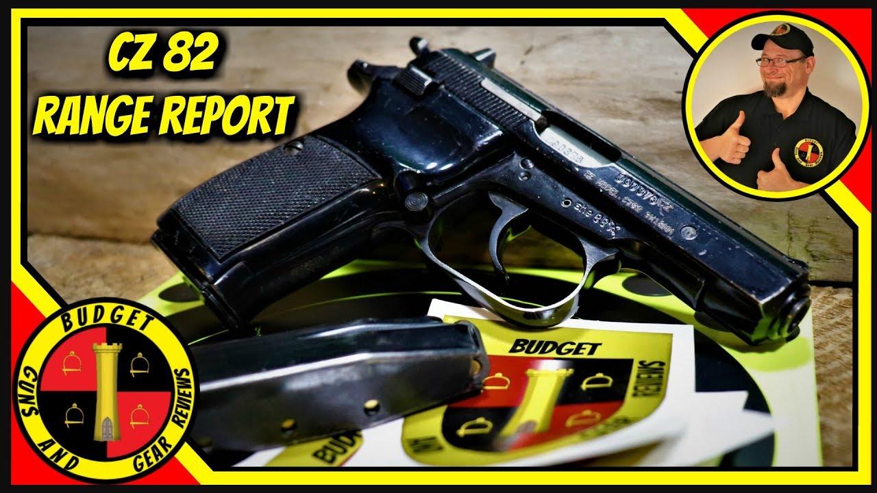 Cz 82 Pistol- Cold War Era Czech Perfection!