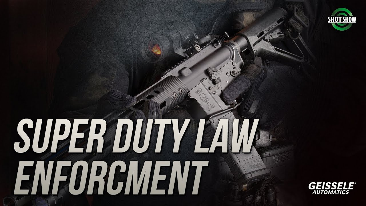 Geissele Super Duty Law Enforcement (SDLE Carbine) - SHOT Show 2019