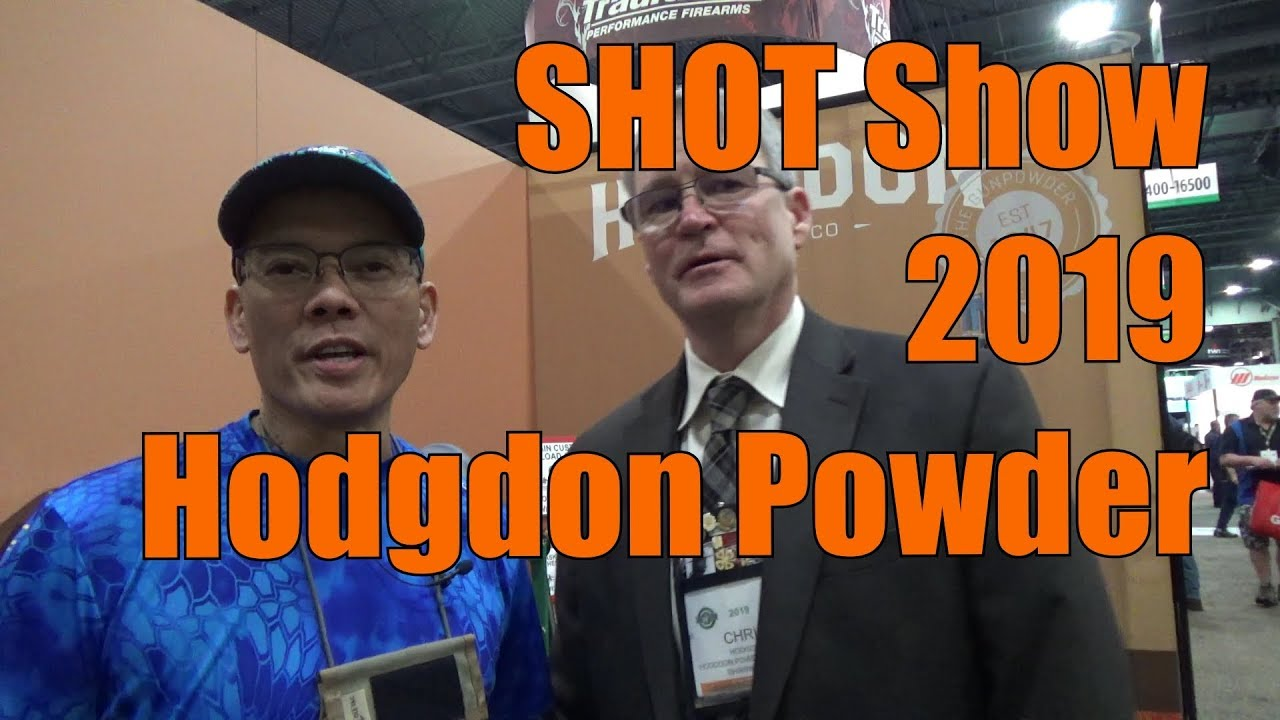 SHOT Show 2019 Hodgdon Powder The National Reloading Tour