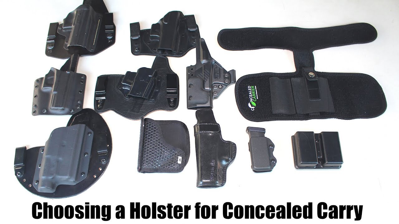 Choosing a Holster for Concealed Carry (EDC)