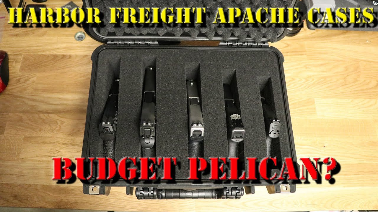 Harbor Freight Apache Cases: Budget Pelican?