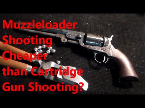 Shooting Muzzloaders Cheaper Than Shooting Cartridge Guns?
