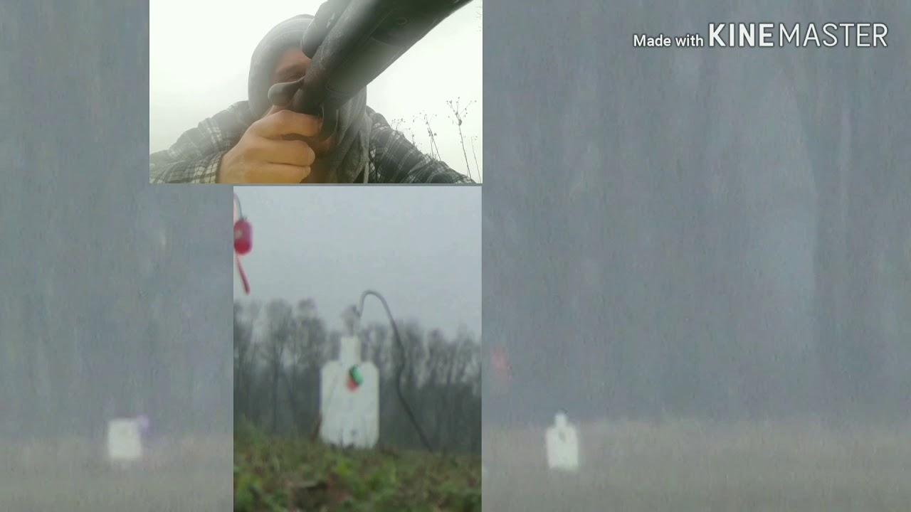 1000 Yards Soda / Pop Can Challenge Savage 12fv Custom 6mm Creedmoor In The Rain