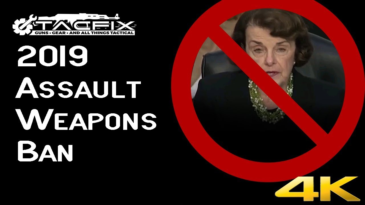 Dianne Feinstein's Assault Weapons Ban of 2019