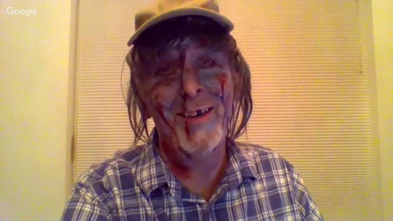 Halloween hat night chat.