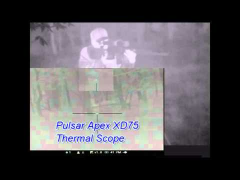 Pulsar Apex XD75 Quantum XD50 Thermal  Monocular Leadfoot LE 3