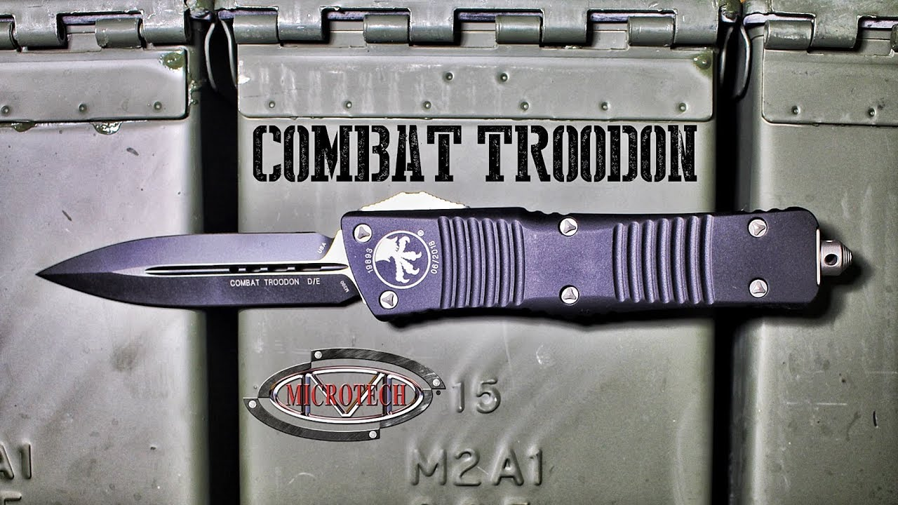 Microtech Combat Troodon Unboxing