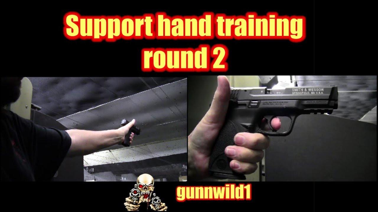 Support hand training round 2