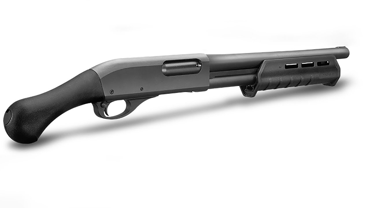 Modified Remington 870 Tac-14 at the Range